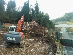 20 febbraio 2013: Ancora scavo assistito (Impresa la Bonifica)